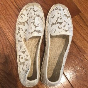 Soludos Lace Smoking Slippers 7